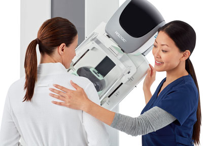 Mammogram exam at Southwest Contemporary Women's Care