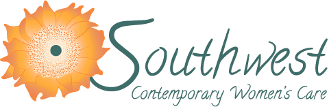 text logo for Southwest Contemporary Women's Care